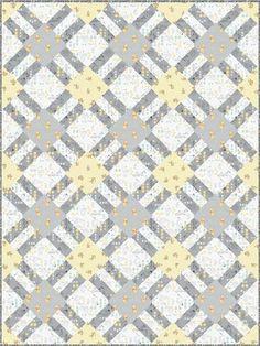 Winnie The Pooh - Cracker Lattice Free Quilt Pattern More