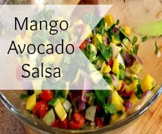 If you're not normally a fan of fruit salsas, don't turn away just yet! I promise you, this mango avocado salsa will become one of your all-time favorites as it offers every aspect you could ever hope for in a salsa.