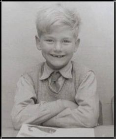 Robert Plant, 6 years old