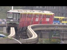 Chongqing China Monorail Line 2 Metro 重庆轨道交通(单轨)2号线