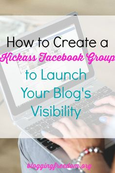 Want to grow your email list, become an online expert, and make money? Start a Facebook group! I show you how in this blog post.