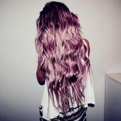 Rose Metallic Hair