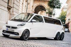 Cars - Smart fortwo limousine : l'attraction du salon de Francfort ! - http://lesvoitures.fr/smart-fortwo-limousine-lattraction-du-salon-de-francfort/