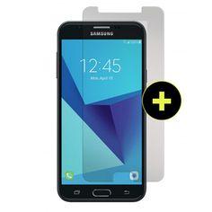 919f2f65aa0 Gadget Guard - Black Ice Plus Glass Screen Protector for Samsung Galaxy J7  2018   J7 Refine   J7v 2nd Gen   J7 Star   J7 Aura - Clear
