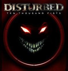 By ten thousand disturbed fist