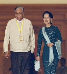 Suu Kyi loyalist and friend elected Myanmar's president