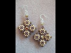 Kelly from Off the Beaded Path, in Forest City, North Carolina brings you a another great project. Kelly shows you how to make a beautiful pair of earrings u...
