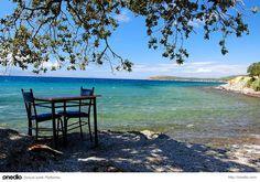 Koyunevi Köyü Sokakağzı Sahili, Ayvacık/Çanakkale - Kendi halinde denize kıyısı olan bir yer arıyorsanız Çanakkale'nin bu dinlendirici ortamı tam size göre.