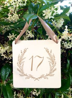 1 20 Sweet Vintage Wedding 6x6 Square Table Number Signs Romantic
