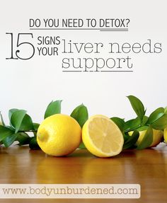 Your liver is one hard-working organ: it's responsible for over 500 functions including fighting off infection, manufacturing hormones, controlling blood sugar, helping blood to clot, and neutralizing toxins. So the health of the liver is very important to your overall health and wellbeing. Learn if you need to detox with these 15 signs your liver needs support.