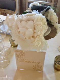 Peony Designs by Soirée Floral | #nantucket #peony #centerpiece #floral #design #soireefloral http://blog.soireefloral.com/2014/06/peony-designs-by-soiree-floral.html