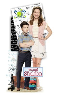 """""""Young Sheldon"""" by tracireuer ❤ liked on Polyvore featuring art"""