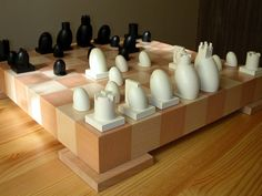 Original / Design / Unique / Bizarre chess sets : - Chess.com