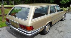 Carscoops: Elegant Coach-Built 1973 Mercedes 450 Estate for S...