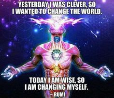 Today I am wise #rumi