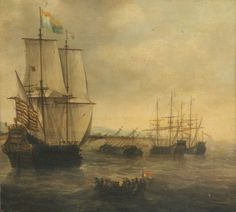 Jacob Adriaensz Bellevois - The Dutch Ship 'Eendracht'