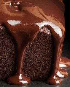 Chocolate Pound Cake Recipe - CHOW by elinor