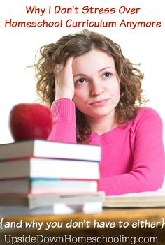 Why I Don't Stress Over Curriculum Anymore {and why you shouldn't either!} - Life of a Homeschool Mom Early Learning, Fun Learning, Homeschool Curriculum Reviews, Homeschooling Resources, Homeschool Math, Educational Activities For Toddlers, Home Teaching, Home Schooling, Kids Education