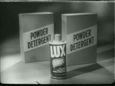 1950s TV: Daytime commercial for Lux liquid detergent (1957)