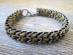 Man Bracelet - Man Silver Bracelets - Man Leather Bracelet - Man Jewelry - Man Gift - Man Bracelets - Boyfriend Gift - Husband Gift - Guys