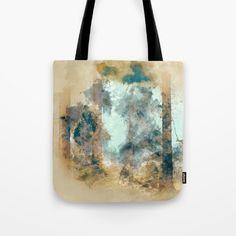 Forest II Tote Bag by jkdizajn Print Design, Art Prints, Tote Bag, Bags, Painting, Art Impressions, Handbags, Painting Art, Totes