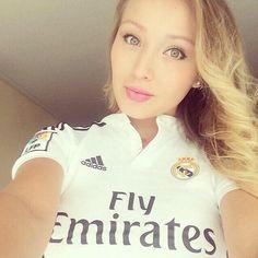 Daniela Las Mas Lindas jersey Mujeres realmadrid Futbol Chicas 4wv8q4