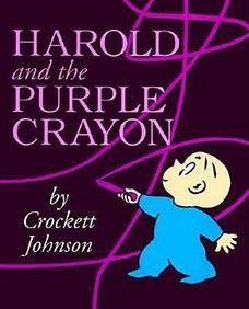 Children's Classic...  Harold and the purple crayon  www.littleonebooks.com