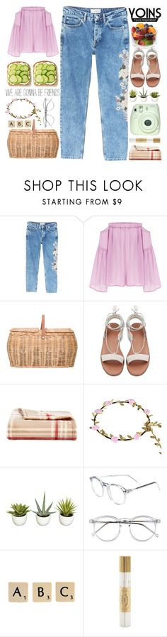 """""""*Yoins 38*"""" by mayblooms ❤ liked on Polyvore featuring MANGO, Bloomingville, Charter Club, Fuji, Wildfox, Rock 'N Rose, Fine & Candy, yoins, yoinscollection and loveyoins"""