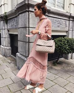 @negin_mirsalehi The Lilou Midi Dress