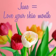 I'm calling it!  June is LOVE YOUR SKIN month. Treat it right take care of it & by July - you won't need anything more than mascara (for those of us blessed with clear lashes!) and blush (for those of us blessed with PALE skin). What are your plans for the month of June?  Want to love your skin?  Let's chat to find the right system for you!  #June #summer #skinlove #skincare #nomakeup #nomakeupsummer #allin #skincaresolution #skinsolution #ssgmay #faceforward #faceof40 #summerface…