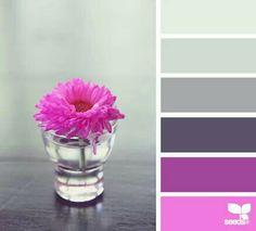 Design seeds...pink blossom tones