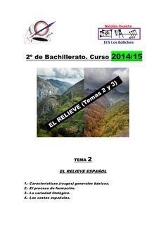 Temas 2 y 3: el relieve en España.