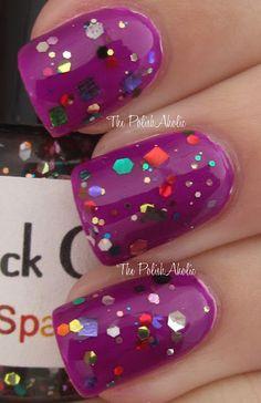 Sparkle Motion Full Size Nail Polish. $9.00, via Etsy.