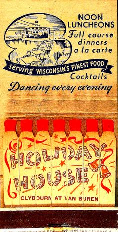 Holiday House feature matches, Wisconsin