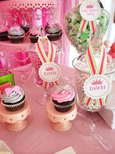 Princess party Salt Water Taffy, Dessert Recipes, Desserts, Princess Party, Cake, Food, Sticky Toffee, Tailgate Desserts, Deserts