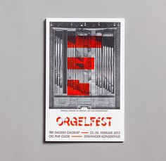 Orgelfest on Behance
