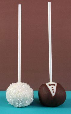wedding cake pops   Wedding cake pops   Flickr - Photo Sharing!