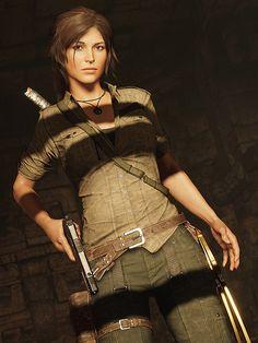 """Shadow of the Tomb Raider"" (SRWE hotsampling)… Tomb Raider Game, Tomb Raider Lara Croft, Lara Croft 2013, Lara Croft Wallpaper, Laura Croft, Nathan Drake, Female Character Inspiration, Raiders, Female Characters"