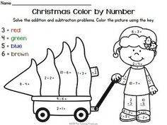 included are 3 color by number printables addition subtraction facts within aligned to common core