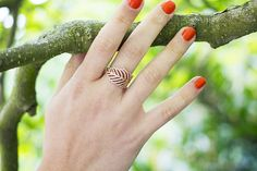 Pandora Rose Collection / Feather Ring / Hello October / #Make It Rose