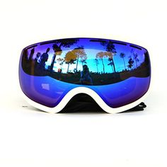 COPOZZ Snow Goggles Adult Anti-Fog Wide Angle Multicolor UV400 Snowboarding Ski…