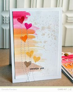 Homespun with Heart: Studio Calico's October card kit, Antiquary...