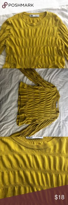 Zara Camel Suede Leather Cape With Fringe Size M 810 Ref