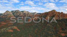 Video: drone riprende le rocce rosse in Arizona