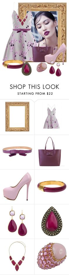 """""""Untitled #2549"""" by quitabaity ❤ liked on Polyvore featuring AX Paris, RED Valentino, Marc by Marc Jacobs, Diane Von Furstenberg, Devon Leigh, Samantha Wills, Billie & Blossom and Jona"""