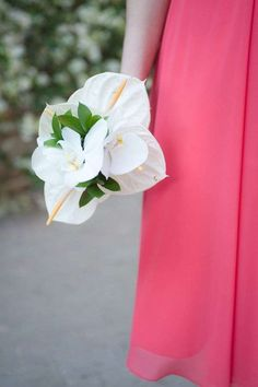Bouquet da sposa con Anthurium   (Foto 33/40)   Donna