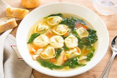 Think of this Chicken Spinach Tortellini Soup as a heartier cousin of a classic chicken noodle soup. Perfect recipe for a cozy winter meal!