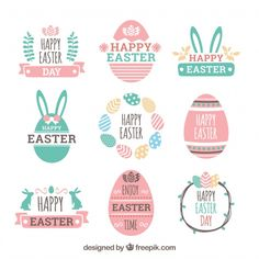 Creative Easter PVC Sticker Wall Room Sticker Happy Decor Easter Party Decal for sale online Molduras Vintage, Thanks Words, Easter Stickers, Happy Easter Day, Poster Design, Easter Printables, Easter Party, Easter Crafts, Easter Ideas