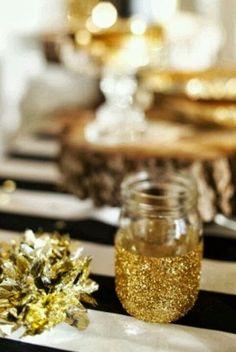 Decorare casa per Natale con i barattoli. Idee. Ispirazioni.