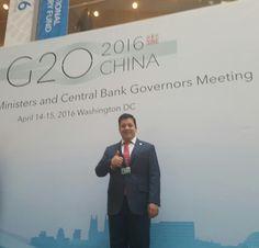 Participa líder de Empresarios Jóvenes Coparmex en reunión del G20 de ministros de finanzas | El Puntero